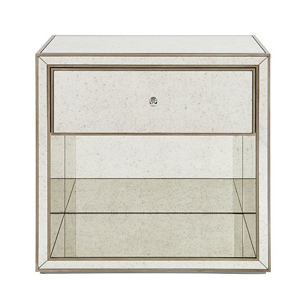 Bailey Mirrored Side Table