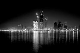 Abu Dhabi Skyline  #AbuDhabiF1
