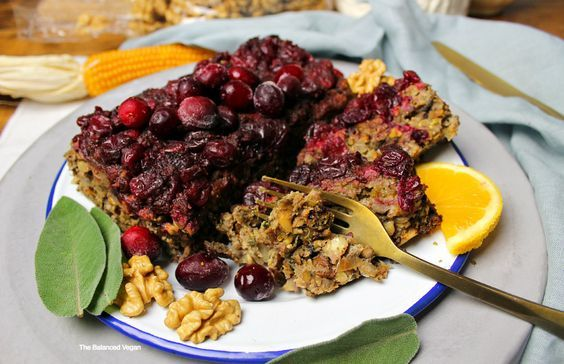 Vegan Cranberry Nut Loaf