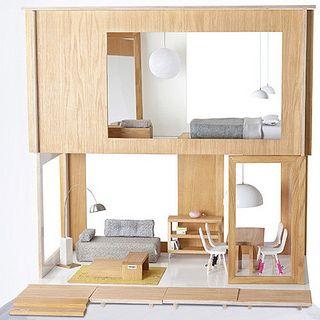 miniio dollhouse by baby space interiors, via Flickr