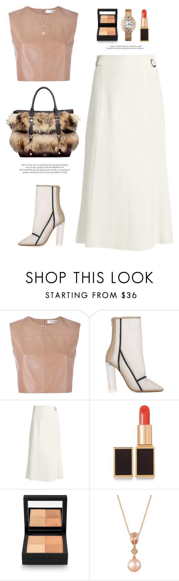 """Heel Boots"" by yexyka ❤ liked on Polyvore featuring Valentino, adidas Originals, Proenza Schouler, Moncler, Elle Macpherson Intimates, Tom Ford, Givenchy and LE VIAN"