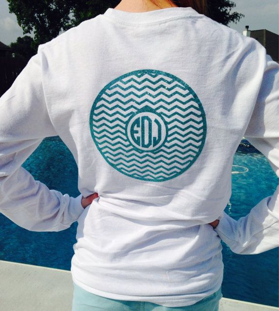 100% cotton long sleeve shirt.    Please indicate monogram initials (first,LAST, middle) in note to seller at checkout!  Failure to do so