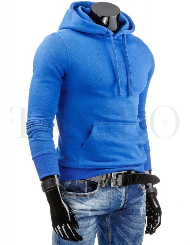 Pánská stylová mikina - Laurent, modrá