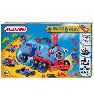 MECCANO BUILD&PLAY 6 ΜΟΝΤΕΛΑ - 130 ΤΕΜΑΧΙΑ - Kalkito