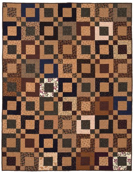 FREE PATTERN! This quick Jelly Roll-friendly quilt can be tweaked for most any gift or decorating need, and it comes from a very special designer—Martingale's founder and former president (now retired), Nancy J. Martin. Sign in or register to download Nancy's free pattern right now.