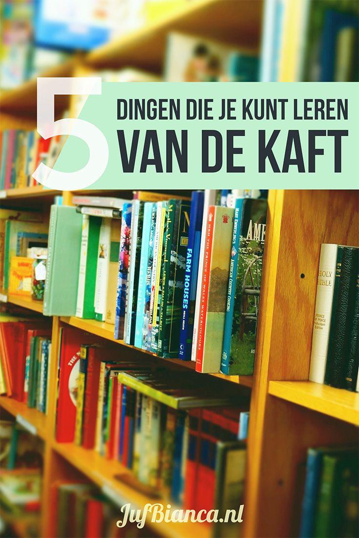 Natuurlijk als je een boek voorleest gaat het je eigenlijk om het verhaal. Je wilt dat de kinderen daar naar luisteren daarvan leren daarvan genieten. Maar sla toch vooral de kaft niet over! Je kunt meer dan alleen het plaatje laten zien. Werk jij met het thema boeken? Ik geef je vandaag 5 dingen die je kunt leren van de kaft van een boek. #JufBianca