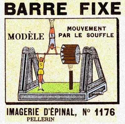 Barre Fixe. N° 1176.