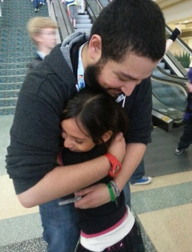 My heart just broke... Omg... He is so sweet!!! I love him <3