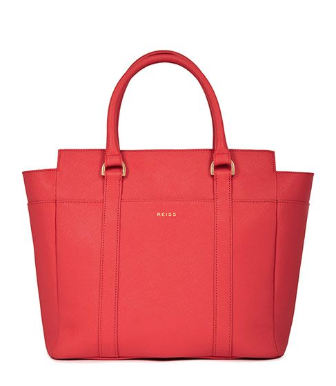 Bronte leather tote