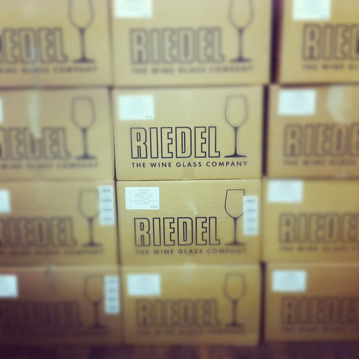 Just a few Riedel boxes.