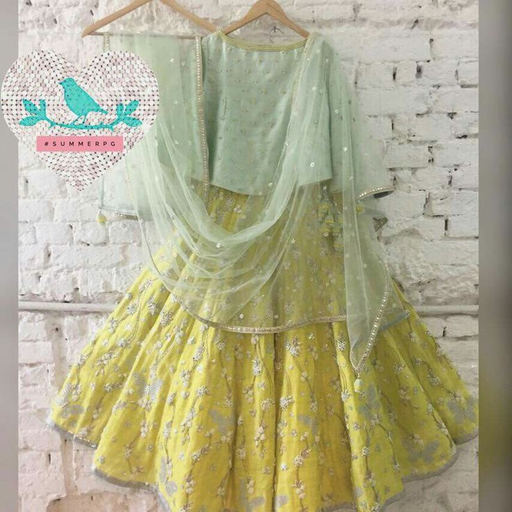 Yellow Butterfly Lehenga Call/Message +919899070899