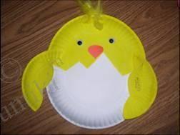 Поделки из бумажных и пластиковых тарелок для детей, фото