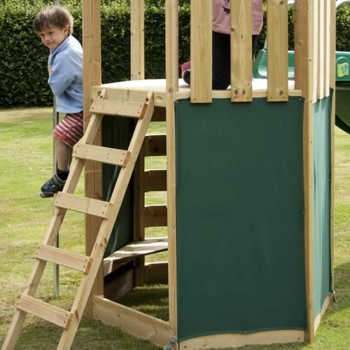 TP Toys Castlewood Den Pack can be added to the TP Castlewood Tower (TP340) to create a secret hideaway den. £24.99