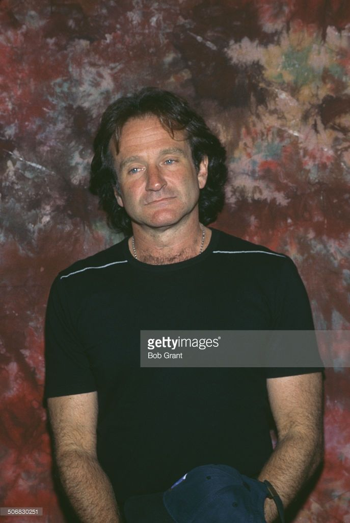 American actor and comedian Robin Williams (1951 - 2014), 1996.