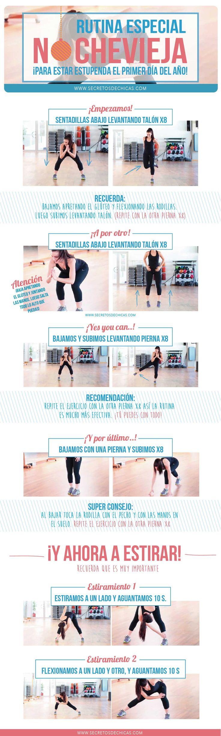 rutina de ejercicio recortado