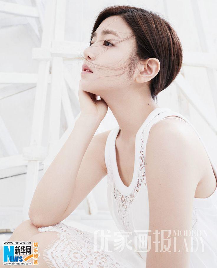 Actress Michelle Chen  http://www.chinaentertainmentnews.com/2016/03/michelle-chen-covers-fashion-magazine.html