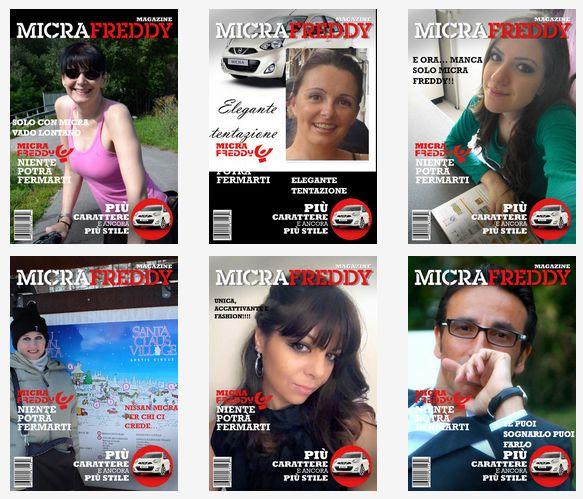 Con un selfie vinci una Nissan Micra Freddy. | Vitalba Morelli.it - http://www.vitalbamorelli.it/2014/12/16/con-un-selfie-vinci-una-nissan-micra-freddy/