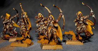Sagitari & Dimacheri: Wood Elves - Glade Guards Scouts part 1