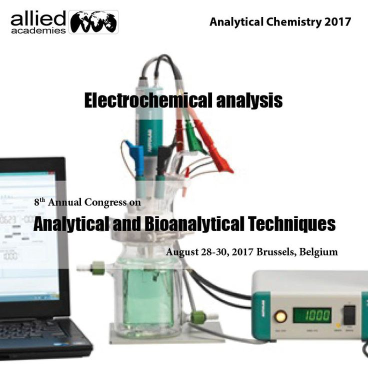 : Electrochemical analysis  #Electrochemical analytical methods measure the potential associated current in an chemistry cell containing the analyte. These ways are often classified consistent with those aspects of the cell are controlled and is measured. An #ion-selective conductor, additionally called a specific ion electrode could be an electrical device that converts the activity of a selected particle dissolved in a solution into an #electrical potential. The voltage is theoretically…