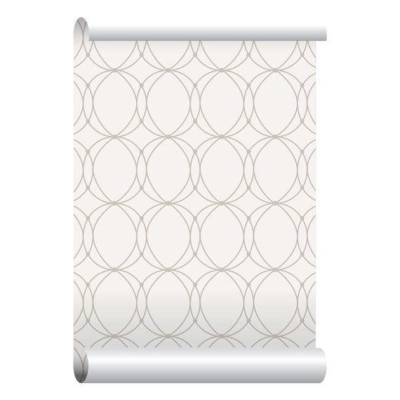 Zelfklevende verwisselbare behang verbonden door EazyWallpaper