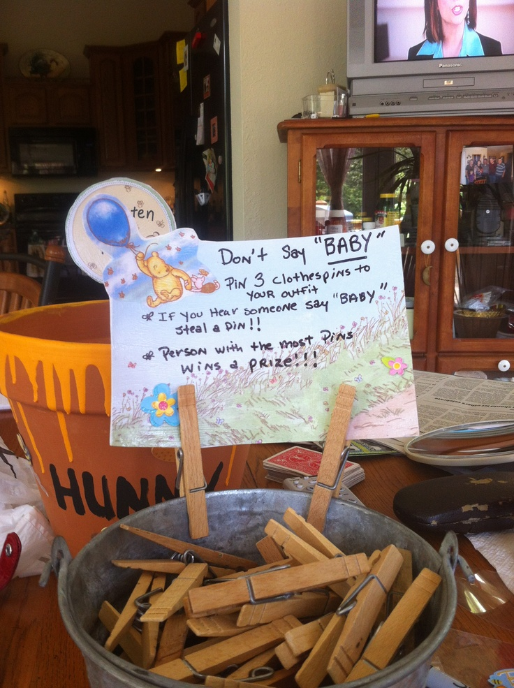 24 Best Winnie The Pooh Baby Shower Images On Pinterest