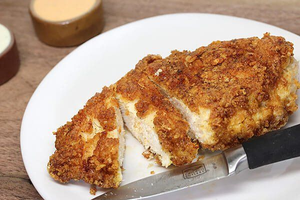 Low Carb Crispy Fried Chicken | Ruled Me