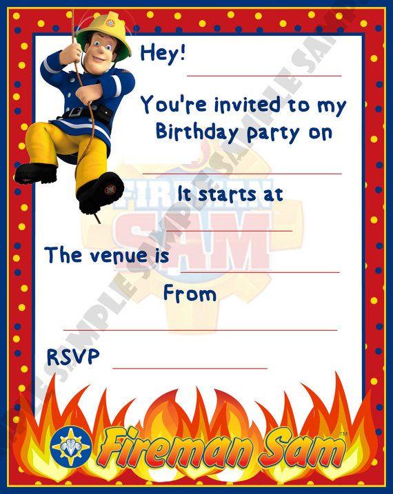 1000+ ideas about Fireman Sam on Pinterest   Fireman Party ...