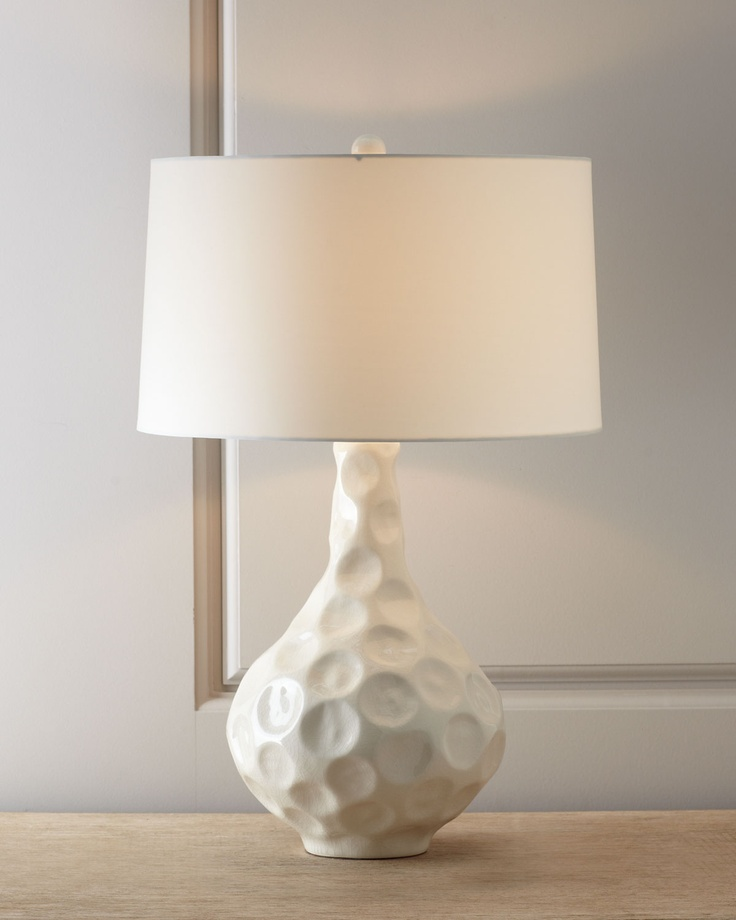 Vagabond crackle porcelain table lamp by arteriors at horchow