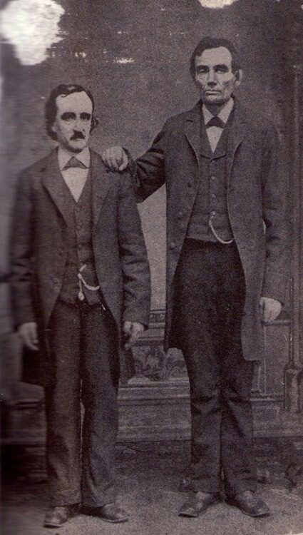 Edgar Allen Poe & Abraham Lincoln