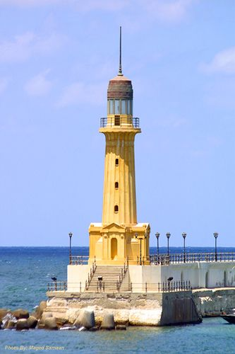 Lighthouse of Alexandria in Egypt | Lighthouse of Alexandria | Flickr - Photo Sharing!