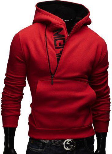 Merish Kapuzenpullover Pullover Slim Fit Sweatshirt 08 Rot S - [ #Germany #Deutschland ] #Bekleidung [ more details at ... http://deutschdesign.apparelique.com/merish-kapuzenpullover-pullover-slim-fit-sweatshirt-08-rot-s/ ]