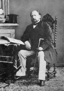Koning Willem III omstreeks 1865