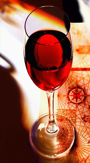 Port Wine Glass by Porto Convention and Visitors Bureau, via Flickr, Portugal