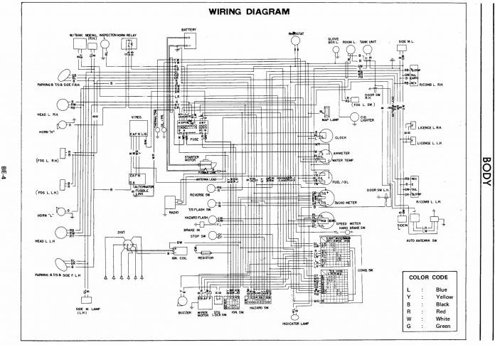 20 simple automotive wiring diagrams references