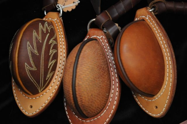 Hand crafted bucking rolls Marsh Brothers Silver & Saddle Shop, is where custom saddlemaker Dennis Hensley, builds saddles and other gear for today's cowboys.