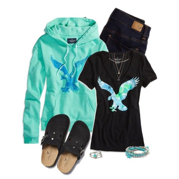 American Eagle by laaudra-rasco on Polyvore featuring American Eagle Outfitters