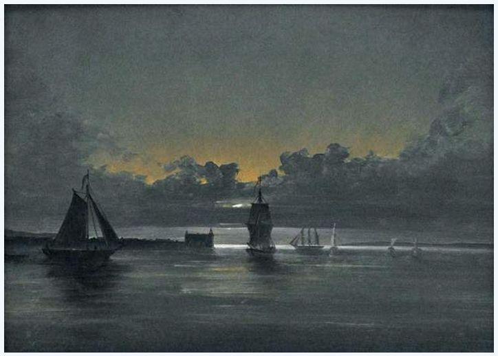 View of Kronbourg at Oresund, 1847