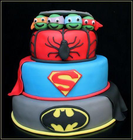 turtle superheld taart - Google zoeken