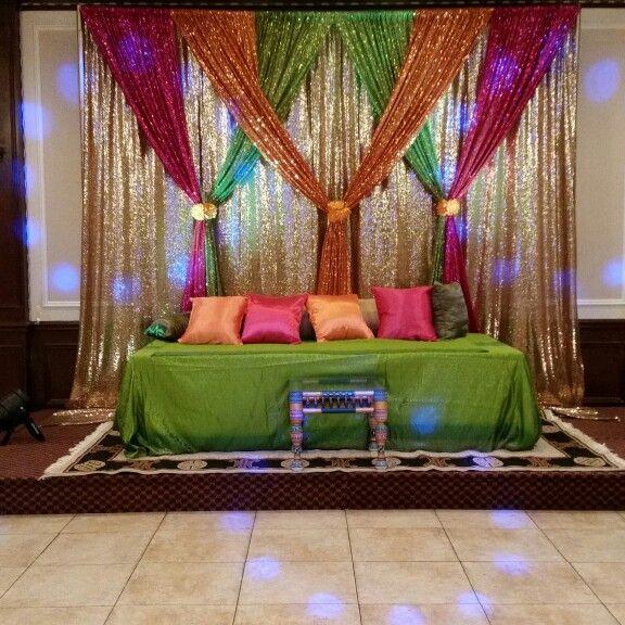 25 best ideas about mehndi decor on pinterest indian for Mehndi decoration
