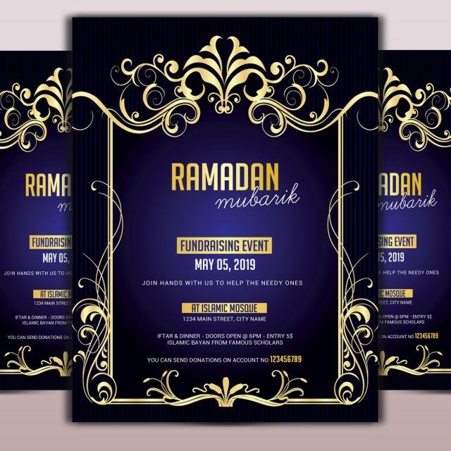 العربية الثقافة التواريخ تصميم عيد فلاير نشرة قالب نشرة قوالب فلايرز الحج الأفكار الإفطار إفطار المصور الإسلام Ramadan Poster Template Design Psd Template Free
