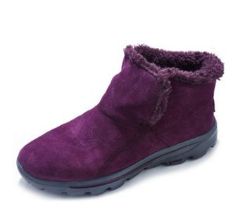 795e6a6da4409 151663 - Skechers On The GO Chugga Suede Ankle Boot with Memory Foam - QVC  Price