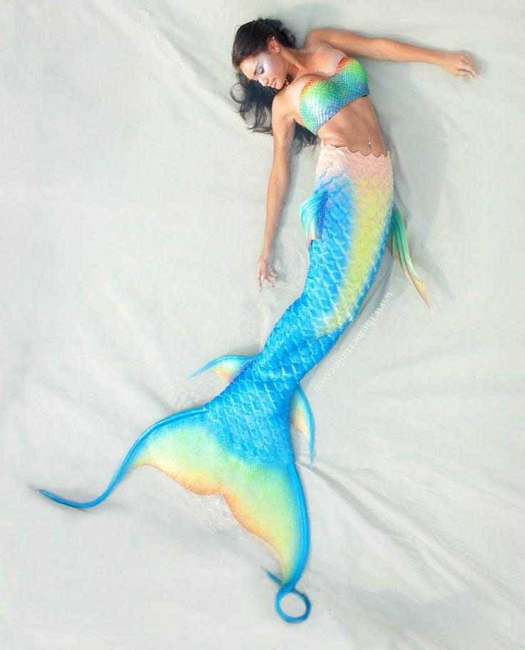 Streamer Silicone Mermaid Tail