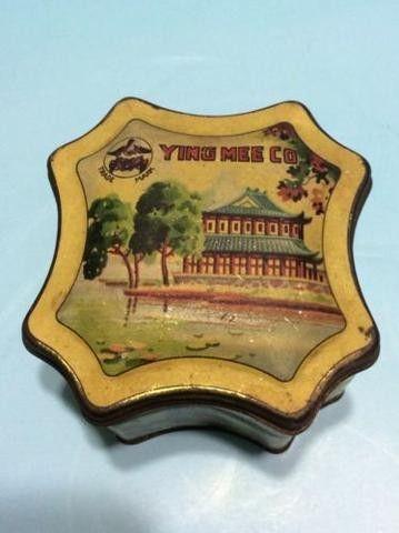 Vintage Ying Mee Co. tea tin