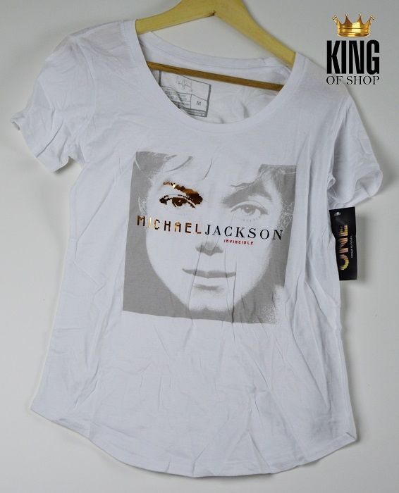 MJ ONE Invincible Ladies T-Shirt now available at King of Shop!  http://www.king-of-shop.com/product/mj-one-invincible-ladies-t-shirt/