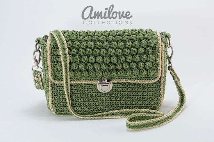 (4) Nombre: 'Crocheting: MiniBobble Slingbag