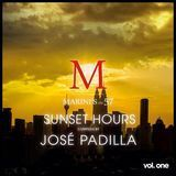 Sunset Hours Marini's on 57, Vol. 1: Compiled by Jose Padilla [CD]