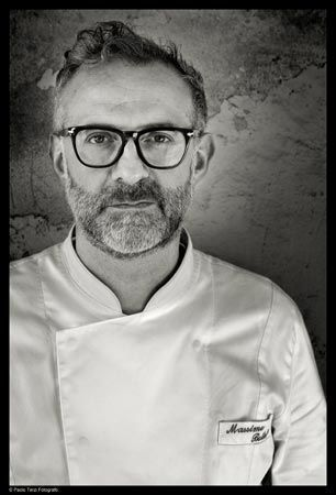 Massimo Bottura (born 30 September 1962) is an Italian restaurateur and the chef patron of Osteria Francescana, a three-Michelin-star restaurant based in Modena,[1]Italy which has been listed in the top 5 at The World's 50 Best Restaurant Awards since 2010 and received top ratings from ESPRESSO, Gambero Rosso and the Touring Club guides.[2] Osteria Francescana was ranked 3rd World's Best Restaurant at the S.Pellegrino World's 50 Best Restaurants Awards 2013.