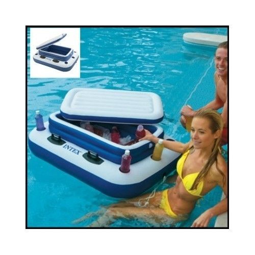 Floating-Pool-Cooler-Inflatable-Party-Ice-Patio-Outdoor-Drink-Holder-Bar-Cup-Air
