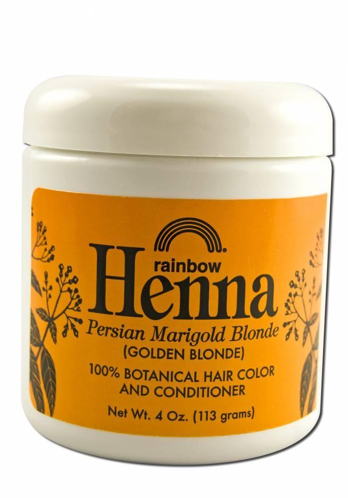 Persian henna hair dye
