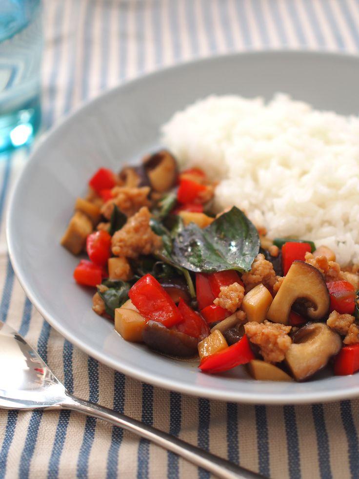 きのこたっぷりガパオライス by うめキチ | レシピサイト「Nadia | ナディア」プロの料理を無料で検索